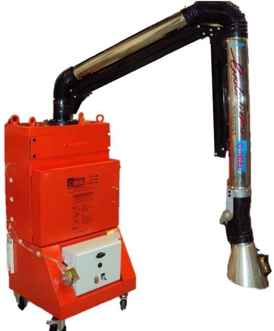 Déprimogène mobile avec bras aspirant - PRO 602 B Nucléaire