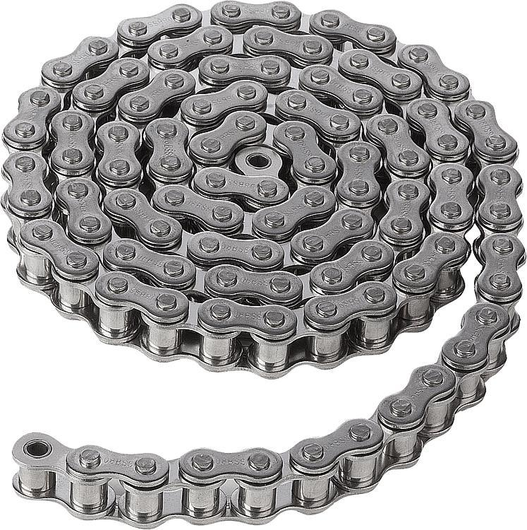 Chaînes à rouleaux simples en acier inoxydable DIN ISO... - Chaînes et pignons