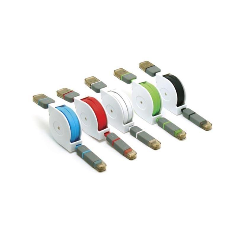 Cable Plat Rétractable - Câbles USB Originaux
