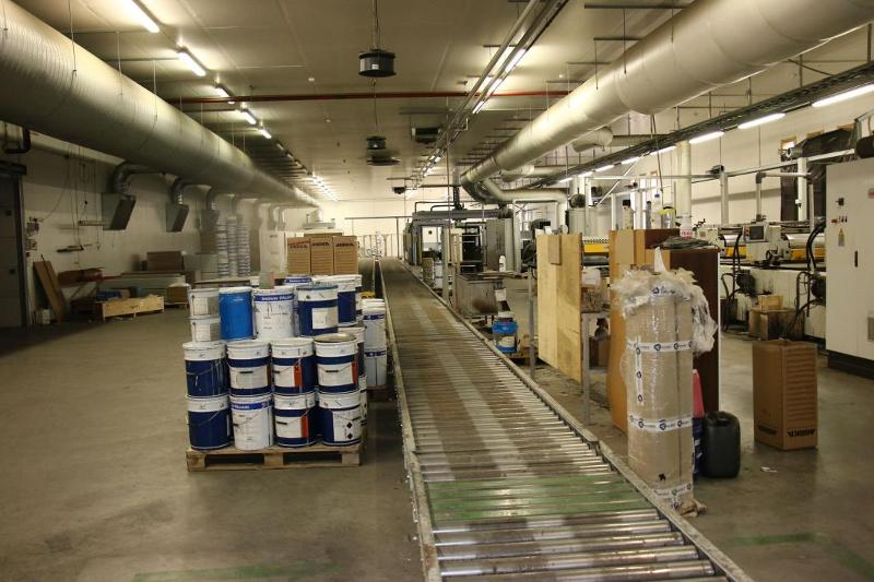 CEFLA Complete Lacquer Coating Print Line