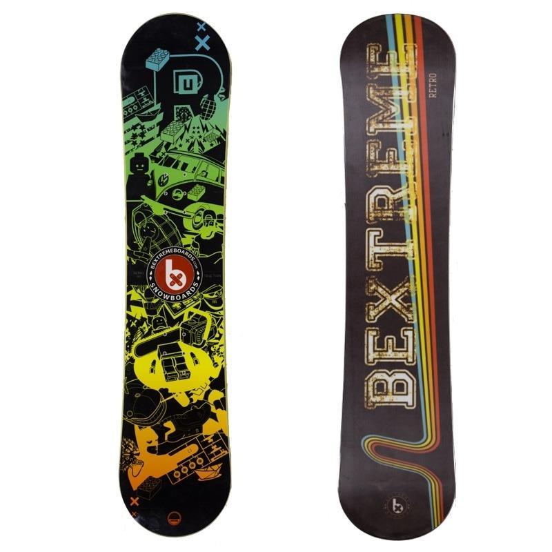 Snowboard Retro Kids Bextreme - Tablas Snowboard
