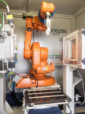 YXLON MU56 TB - Industrielles Röntgensystem für die Gussteilprüfung