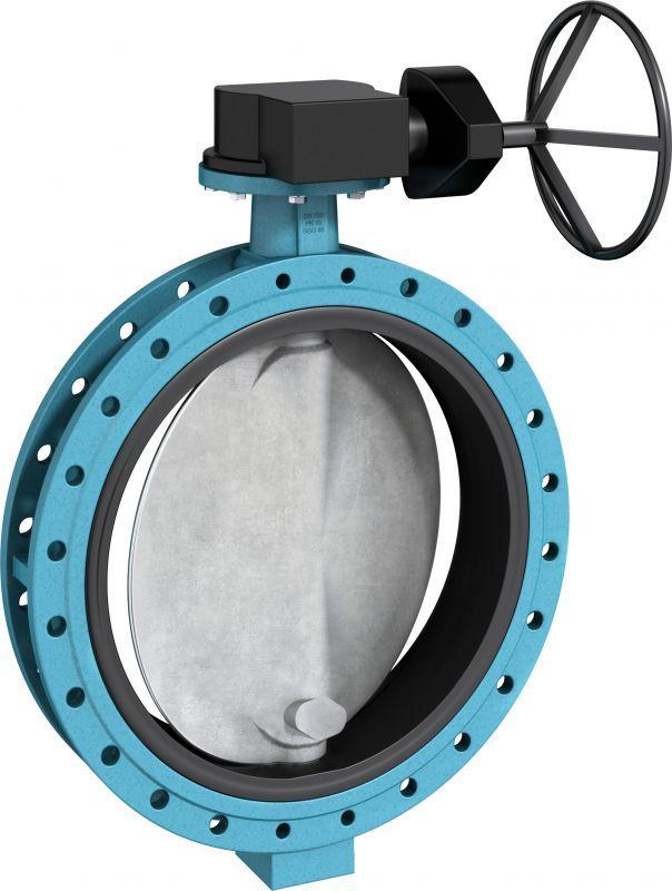 Válvula de cierre y control tipo F 012-K1/WN - Válvula de doble brida en construcción corta diseñada para trabajos pesados.