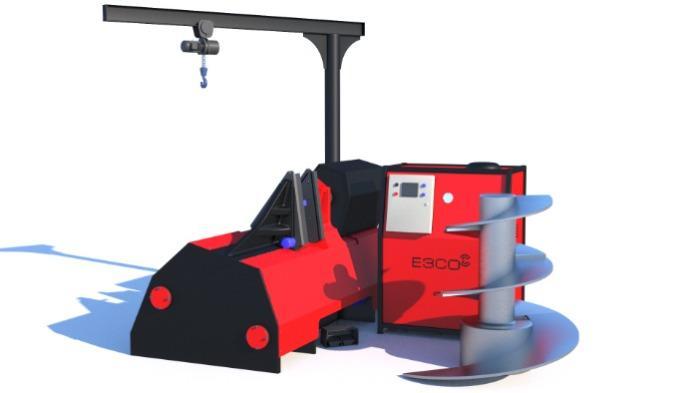 Το μηχάνημα για παραγωγή βιδωτού μεταφορέα - AUGER MAX