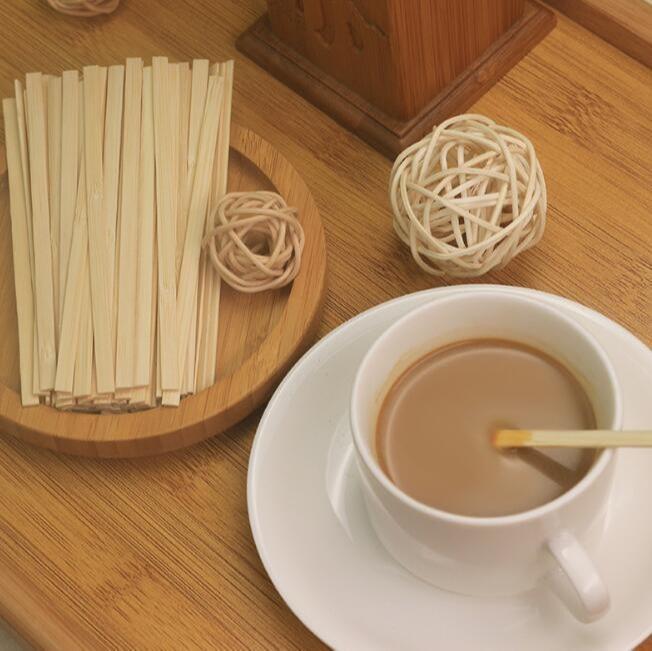 Custom coffee/tea sticks - Disposable logo printed or heat stamp coffee/tea stirrers