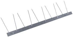 Edelstahl Taubenschutz 1-reihig - Dach- und Sonderzubehör - Taubenschutz