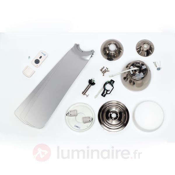 Ventilateur de plafond avec trois pales Delancey - Ventilateurs de plafond lumineux