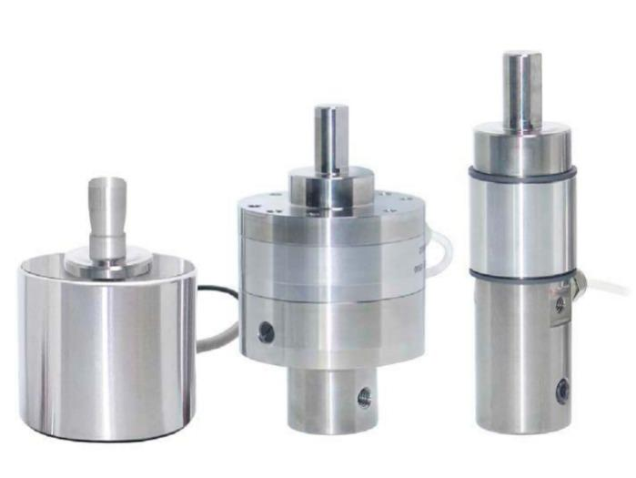 Presses load cell - 8451, 8552 - Compression load cell, canister, compact, with overload protection, robust,