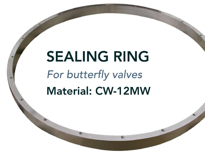 Seat & sealing ring - Valves - for ball and butterfly valves