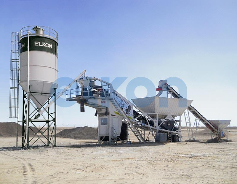 Mobile Master-30 Eagle - MOBILE CONCRETE BATCHING PLANTS