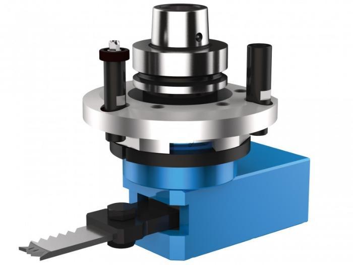 Hinge mortising unit CAVO H (horizontal) - CNC unit for machining of wood, composites and aluminium