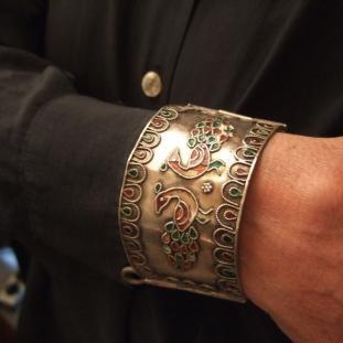 Bracelets - Argent, émail, Egypte