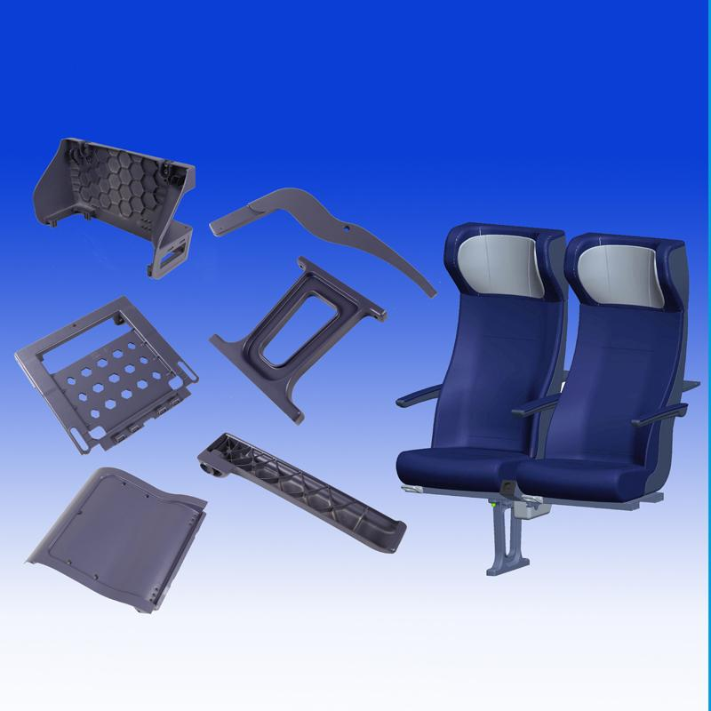 Mg Die Casting Part - Railway Seat