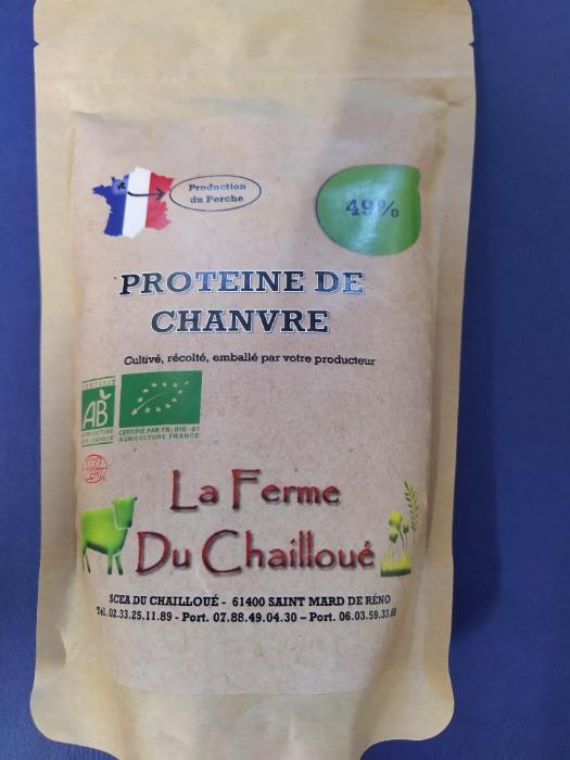 Protéines de chanvre bio -