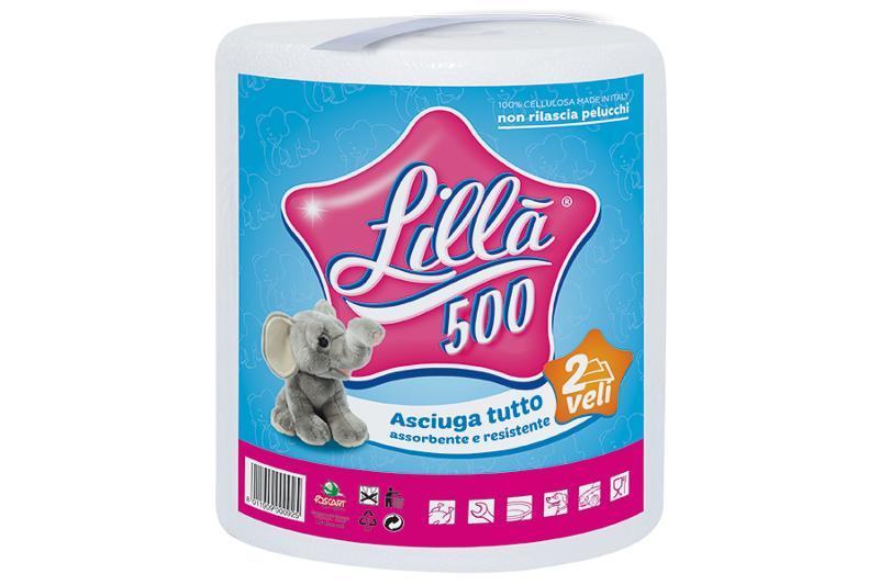 LILLA' 500 – monorotolo con maniglia - Asciugatutto