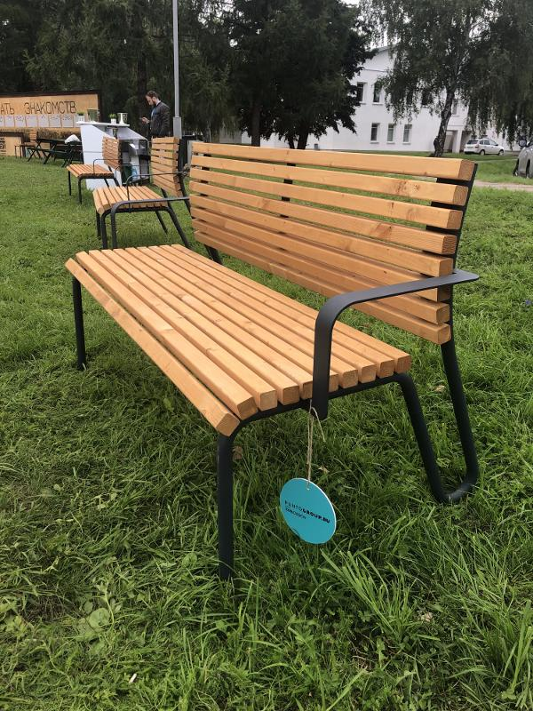 Bench «Snake» - Benches and sun loungers