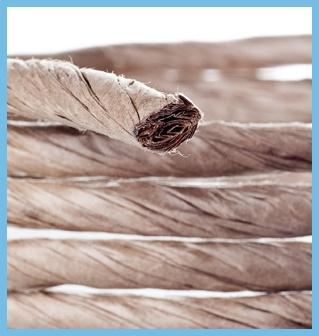 Paper cable filling yarn
