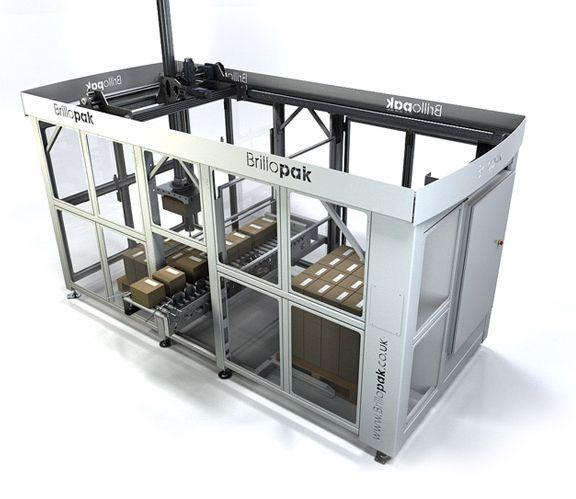 Robot Palletisers - Dual Cell Palletiser