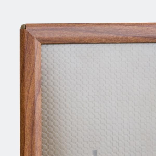 Opti Frames - Opti Cadre bord Bois avec pied