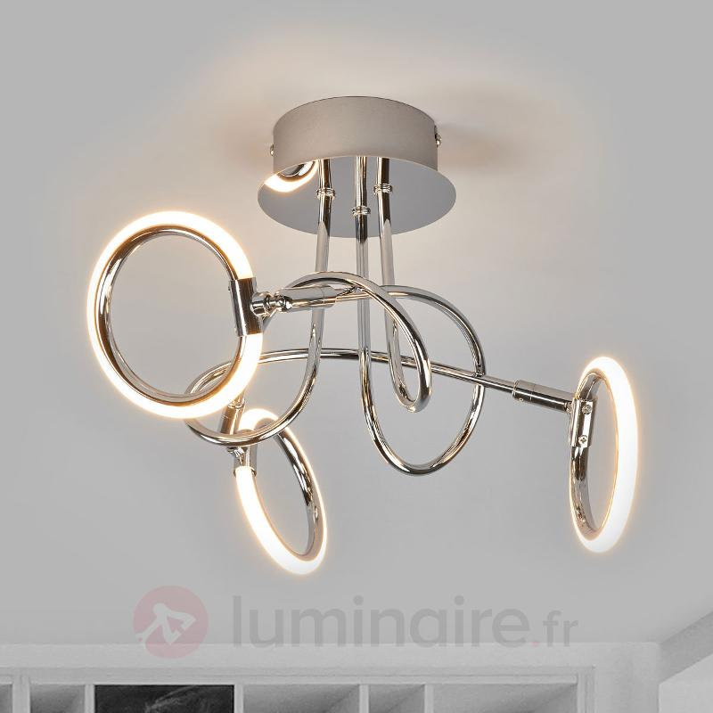 Plafonnier LED à 3 lampes Jana - Plafonniers LED