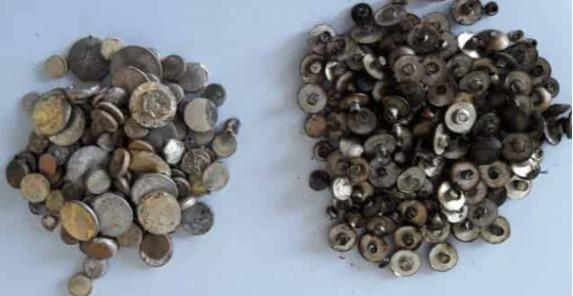 Złom srebra - styki srebrne, srebro techniczne, luty srebrne