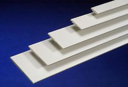 Flat Strips / high when fitted, self-adhesive - F15, F25, F35, F35 and F55 3 mm