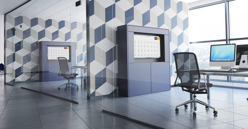 Office storage - Media Wall System
