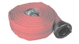 Feuerwehrschlauch - Feuerlöschschlauch DIN rot