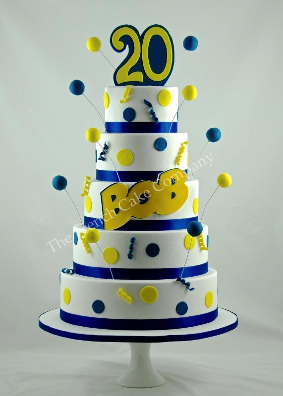 Gâteaux et Pièces Montées sur-mesure - Gâteau avec logo pour société