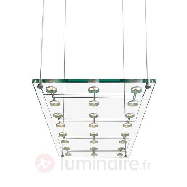 Suspension design raffinée SOSPESA en verre - Suspensions