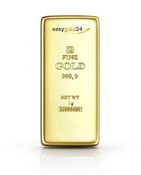 1 Gramm Goldbarren -