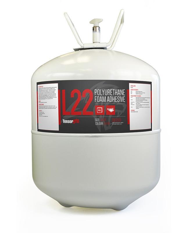 TensorGrip L22 Clear | 22 Liter Canister - TG-L22-22