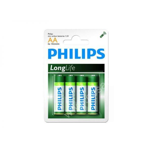 Piles LR06 PHILIPS AA - Consommables