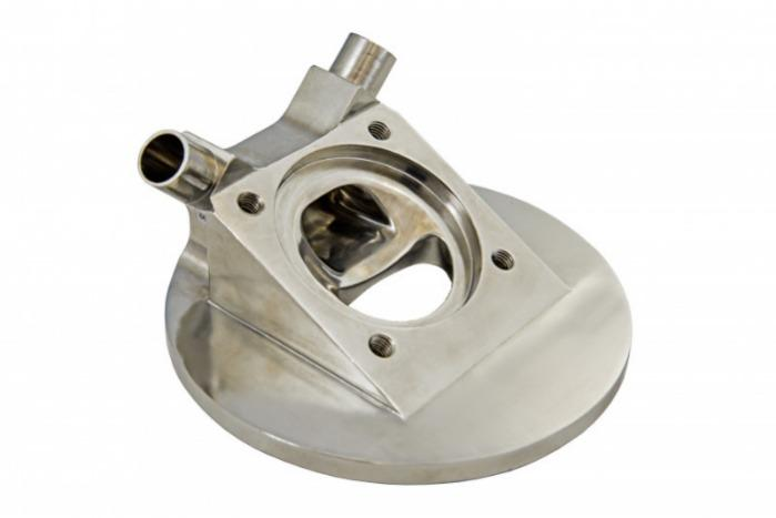 SISTO-CBAV, aseptic Diaphragm valve, forged body, PN16 - Tank valve,1.4435, butt welded/Clamp, enclosed diaphragm spirale supported