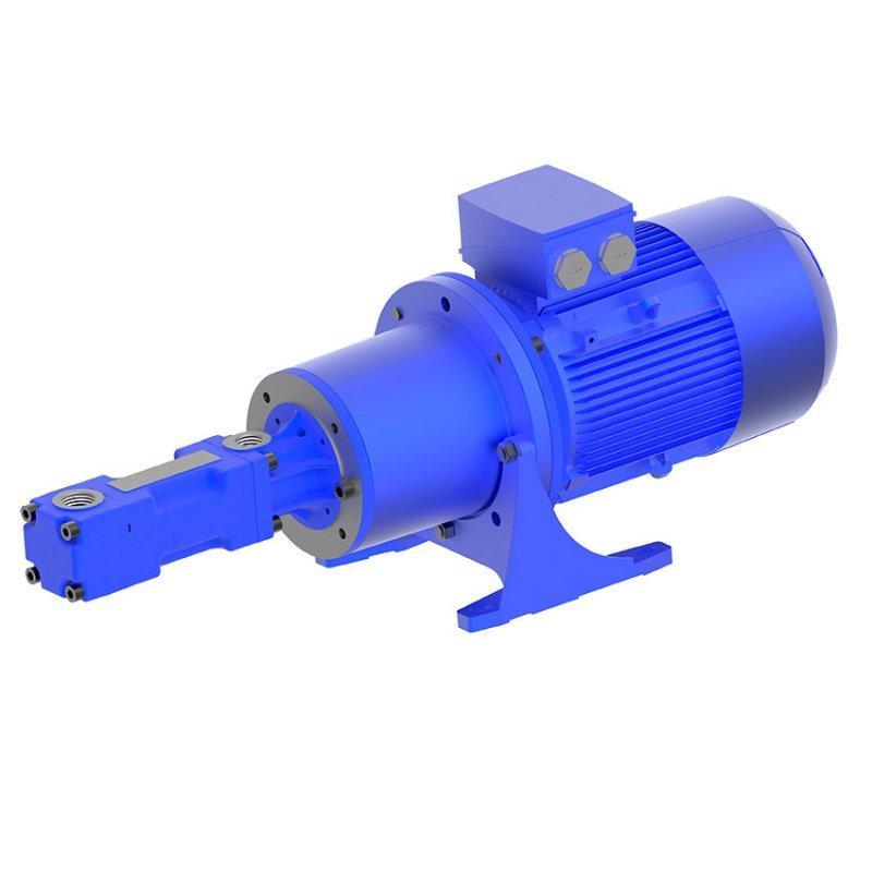Bomba con husillo helicoidal - FFS - Bomba con husillo helicoidal,  Versión con pie - FFS