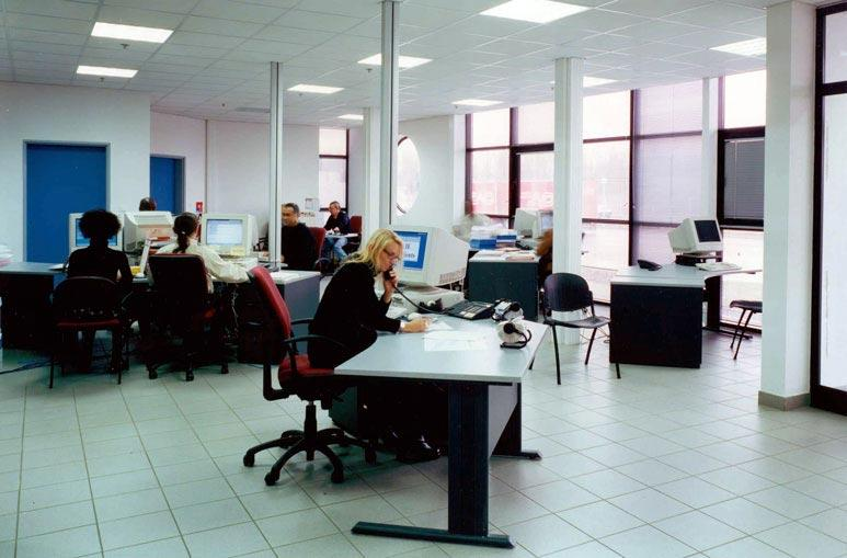 Bureau - Systèmes de construction démontable - Constructions industrielles