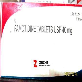 Famotidine Tablets - Famotidine Tablets