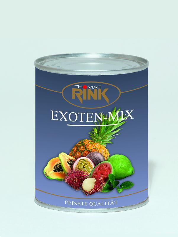 Exoten-Mix, 850 ml, leicht gezuckert - null
