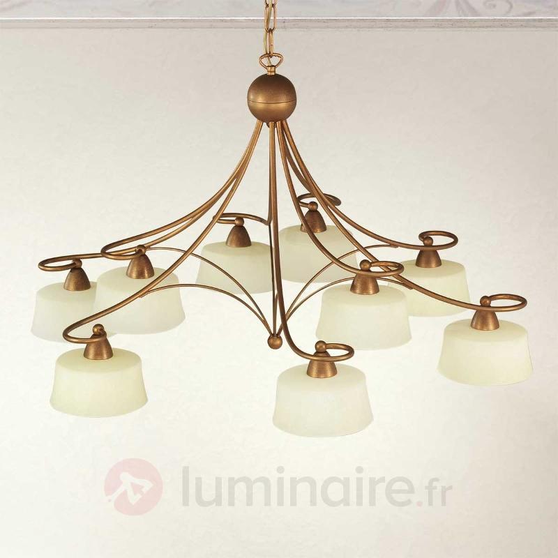 Suspension Alessio à 9 lampes - Cuisine et salle à manger