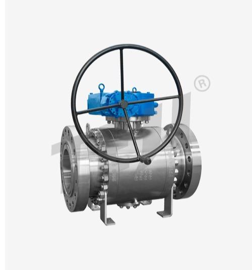 Ball Valve - Trunion mounted Metal seat ball valve-Teji valve