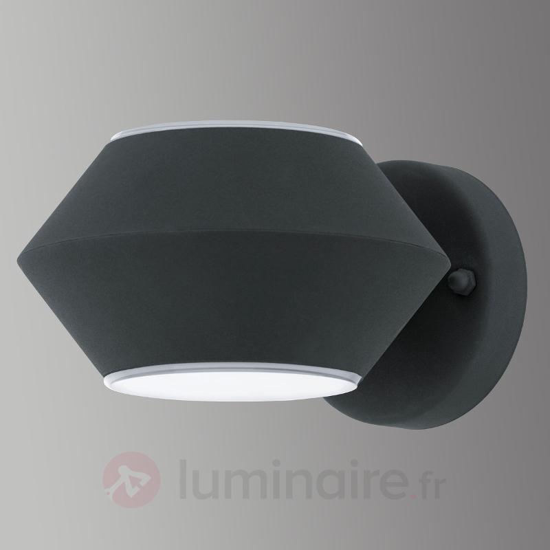Élégante applique LED pr ext. Nocella anthracite - Appliques d'extérieur LED
