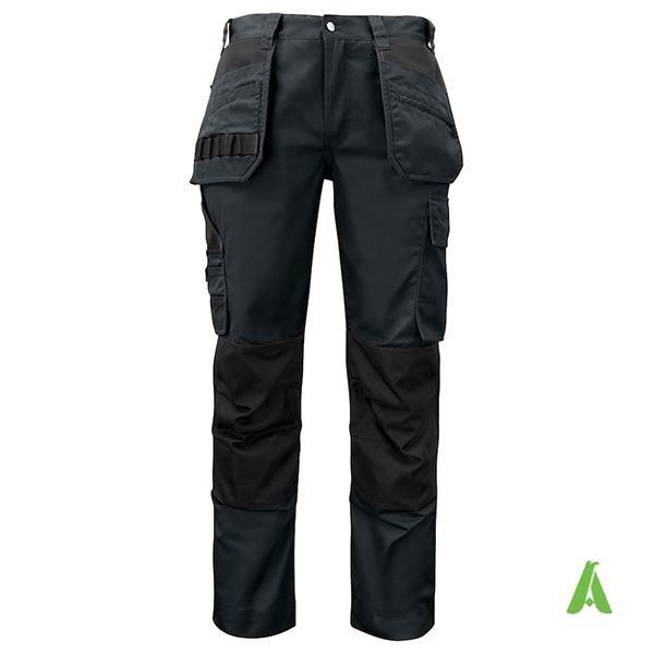 Pantalone da lavoro di alta qualita' con tasche flottanti - Pantalone da lavoro in tessuto tecnico di alta qualita' con tasche flottanti