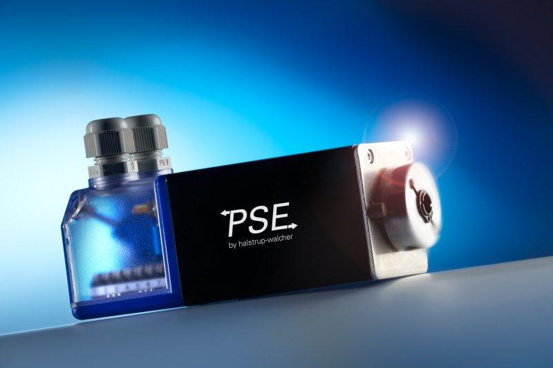 Positionierantrieb PSE 21_/23_-8 - Kompaktes Positioniersystem für geringen Leistungsbedarf