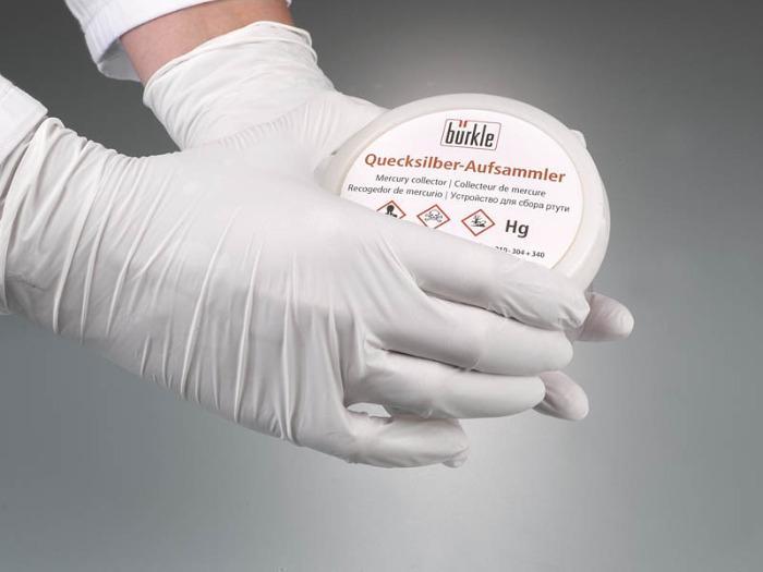 Recogedor de mercurio - Equipo de laboratorio, equipo de protección