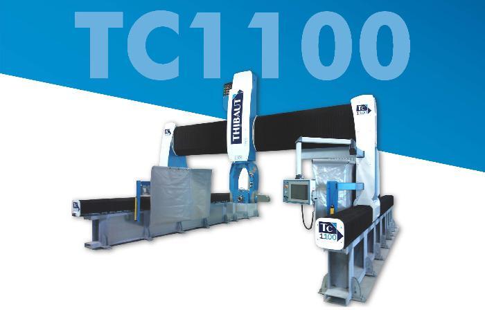 TC1100 - Débiteuse Thibaut TC1100 3 ou 5 axes