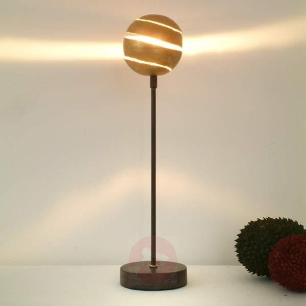 Table lamp KUGELBLITZ GOLD made of iron - Window Sill Lights