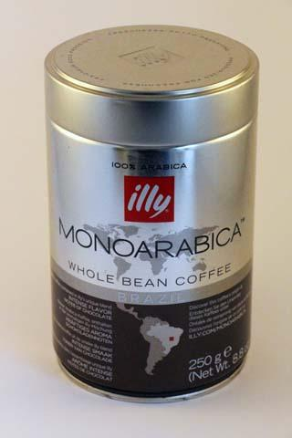 Illy Monoarabica Whole Bean Brazil -