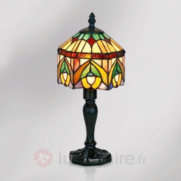 Lampe à poser décorative Jamilia style Tiffany - Lampes à poser style Tiffany