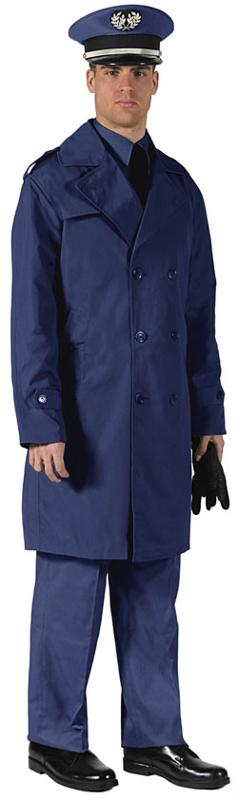 IMPERMEABLE OFFICIER TWILL FR - null