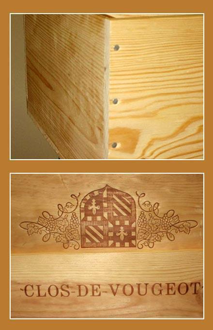 Caisse à spiritueux - Emballages Bois et cartons